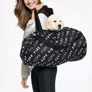 New Victoria's Secret Pink Weekender Duffle Bag